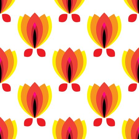 petal: floral pattern with petal on a white background. Stock Photo