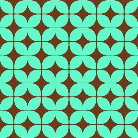 복고풍 형상 원활한 패턴입니다. 기하학적 장식품.
