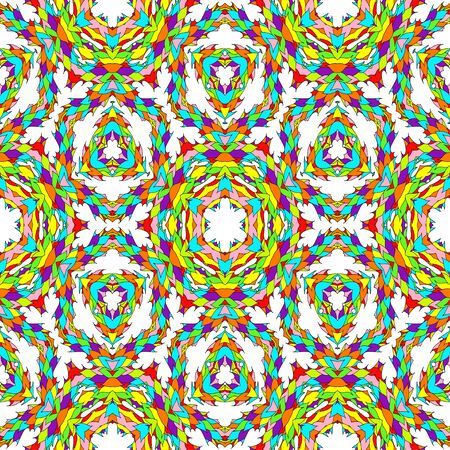 background kaleidoscope: Abstract multicolored decorative geometric kaleidoscope background.