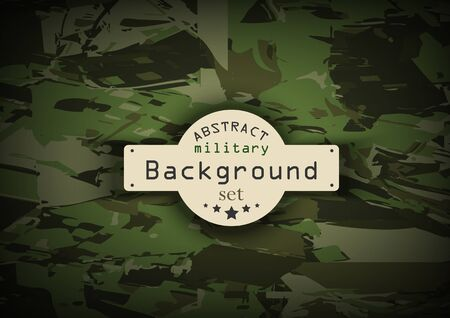 army uniform: Camouflage military pattern  background. Vector illustration, EPS10 Illustration