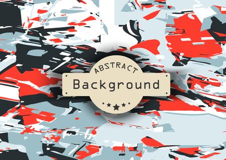 squares background: Decorative colored vector squares background. illustration