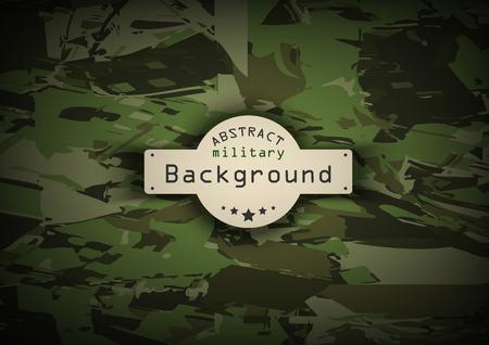 camuflaje: Modelo del camuflaje militar de fondo. Ilustraci�n vectorial
