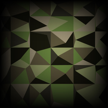 military uniform: Camouflage military pattern polygonalbackground. Vector illustration
