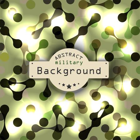 deoxyribose: Abstract vignette DNA science of background. Vector illustration. Illustration