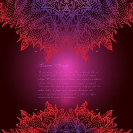 Ensemble de rondes mandalas ornementales. Élément de cercle géométrique. Banque d'images - 47280113
