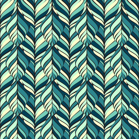 tissue paper art: Decorative ornamental seamless spring pattern. Endless elegant texture with leaves.