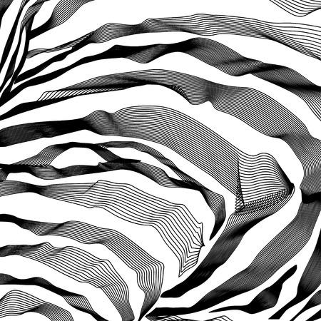 zebra stripes: Zebra Stripes Pattern outline background. Vector illustration. EPS