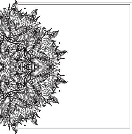 Mandala round ornemental. élément de cercle géométrique faite dans le vecteur. jeu parfait pour tout autre type de conception, anniversaire et autres vacances, kaléidoscope, médaillon, yoga, l'inde, arabe. Banque d'images - 56500119