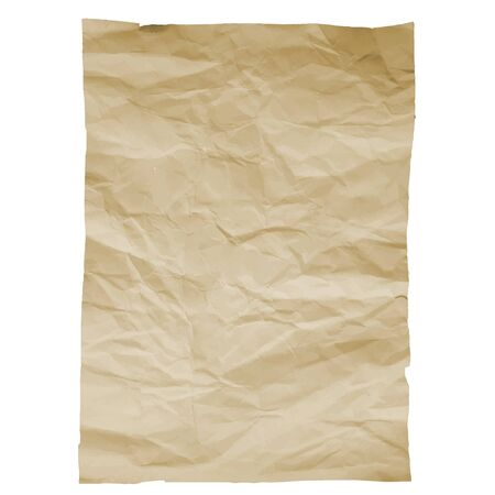 woodgrain: Piece of old paper on white background. Image trace. Vector illustration. EPS