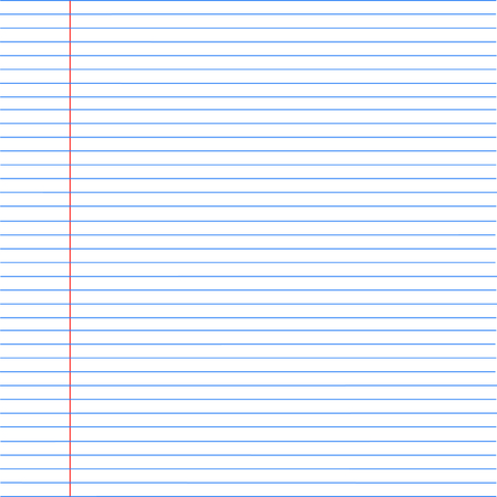 notebook paper background. Paper in line. Vector illustration Stock Vector - 58025513