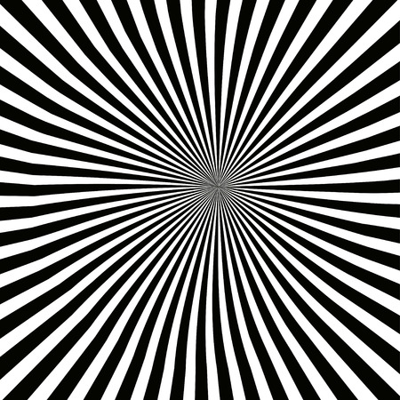 vibrate: Vector illusion rays on a white background. Illustration
