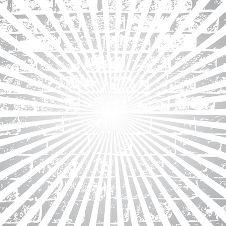 polkadot: Old vector round polka-dot etro vintage label on sunrays background.