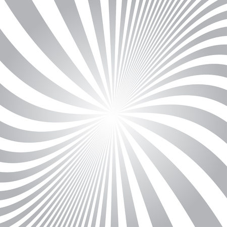 sunrays: Old vector round gradient retro vintage label on sunrays background. Illustration