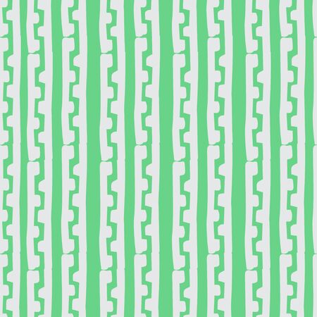grecian: Seamless monochrome hand drawn pattern on background. Design for paper packaging or wrapping. Vector illustration. EPS Illustration