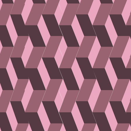 repeatable: Isometric cubes seamlessly repeatable pattern. 3D background.