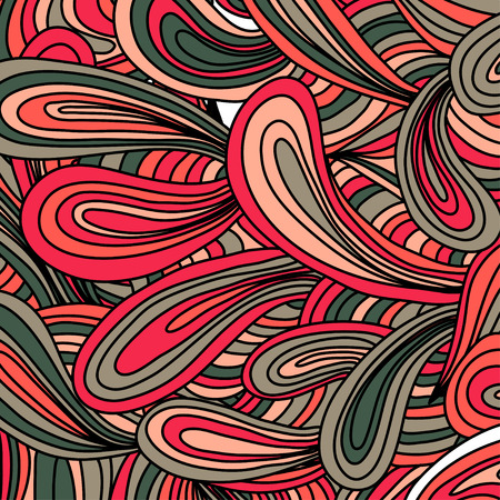 scetch: Hand drawn doodles pattern. Scetch of background with abstract shapes illustration.