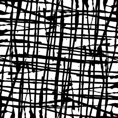 set ink blots.Black blot on a white background.