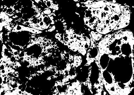 onyx: marble ebru colorful pattern background. Vector illustration.