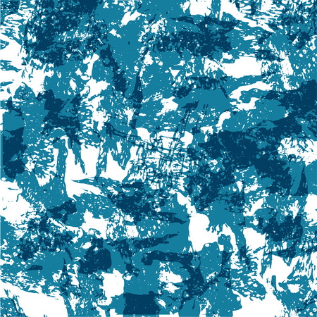 Marble blue colorful pattern background. Vector illustration.