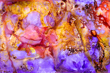 Alcohol ink texture. Fluid ink abstract background. art for design Archivio Fotografico