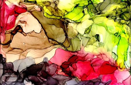 Alcohol ink texture. Fluid ink abstract background. art for design 스톡 콘텐츠