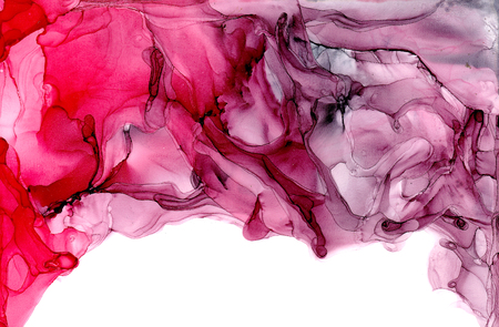 Alcohol ink texture. Fluid ink abstract background. art for design Stock Photo
