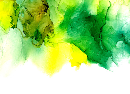 Alcohol ink texture. Fluid ink abstract background. art for design 免版税图像