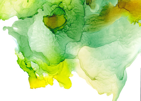 Alcohol ink texture. Fluid ink abstract background. art for design Foto de archivo