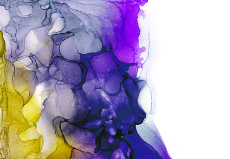 Alcohol ink multicolor texture. Fluid ink abstract background. art for design