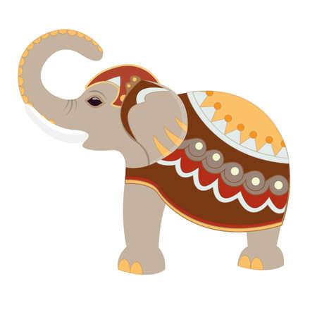 Indian decoratieve Olifant