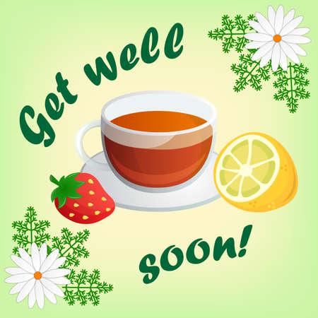 get well soon: Get well soon card