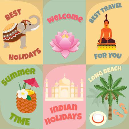 Happy holidays in India