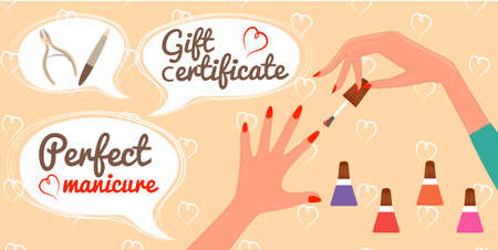 french manicure: Gift Certificate Perfect Manicure Nail Salon