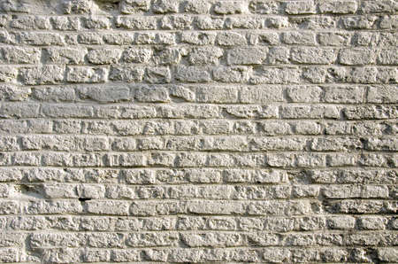 historical white bricks background and texture Stock Photo