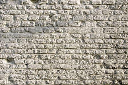 historical white bricks background and texture Stockfoto