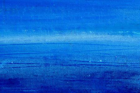 Blauw acryl beschilderd doek achtergrond en textuur Stockfoto - 11961930