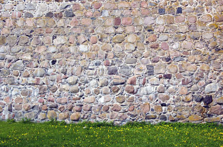 old castle stone wall background and texture Stock Photo - 14545668