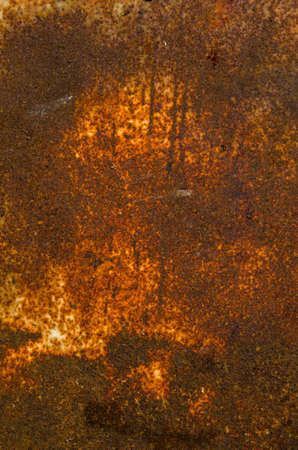 old rusted metal sheet brown background and texture  Stock Photo