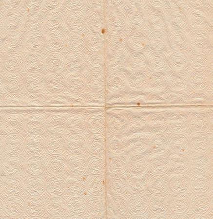 servilleta de papel: textura antigua servilleta de papel de fondo y la superficie