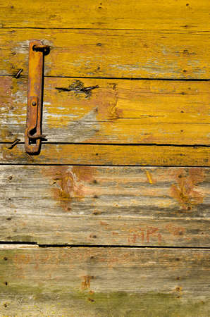 old wooden farm barn door background and texture photo