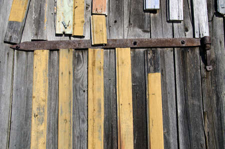 aged wooden farm wall background and texture photo
