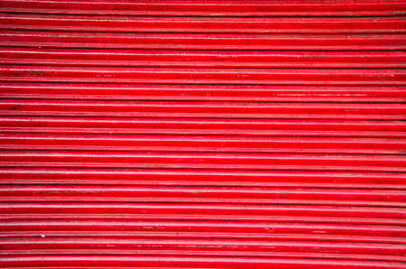 red market metal corrugated door abstract background and texture photo