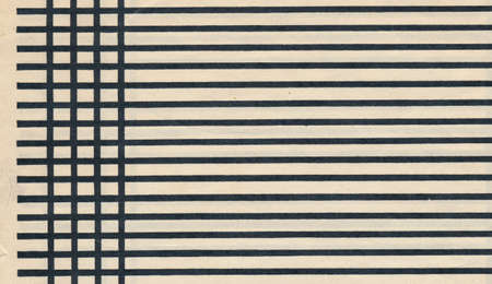 vintage retro  paper page sheet with black line background