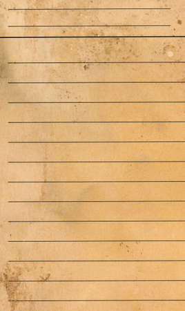 college ruled: old grunge Blank yellow lined paper sheet background or textured