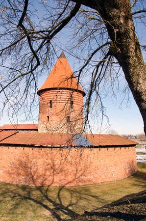 kaunas: Ancient Lithuanian medieval castle of Kaunas