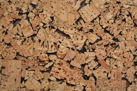 cork wood: Cork wood background notice board
