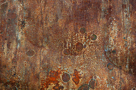 Rusty old metal abstract background