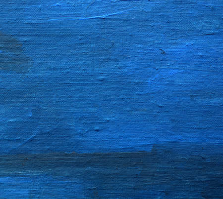 blue background texture: acrylic painted art linen canvas blue background and texture