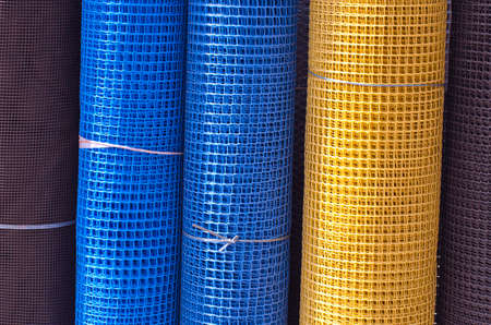 Rolls colorful industrial plastic nets in asia market