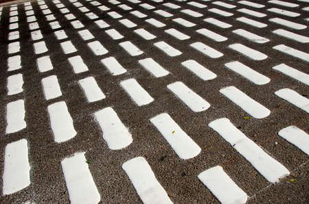 black and white abstract street asphalt background, India Stock Photo